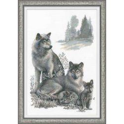 Наборы для вышивания -Волки, семейный оберег, защита дома