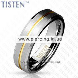 Шикарные обручальные кольца из тистана фирмы Spikes