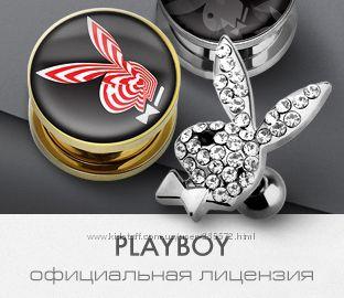 Лицензированный пирсинг Play Boy