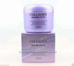 Ночной питательный крем с коллагеном JIGOTT Collagen