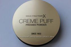 Max Factor крем Creme Puff пудра Facefinity рассыпчатая Translucent Loose