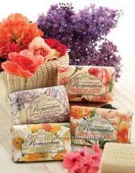Подарочный набор итальянского мыла Nesti Dante Romantica