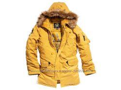 Очень тёплая куртка аляска Alpha Altitude