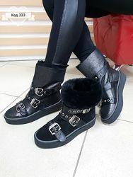 36-41 натуральная замша Италия UGG сапоги сапожки зима ботинки угги уги