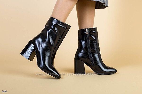 р.36-40 Стильные натуральные Деми ботинки для настоящих леди