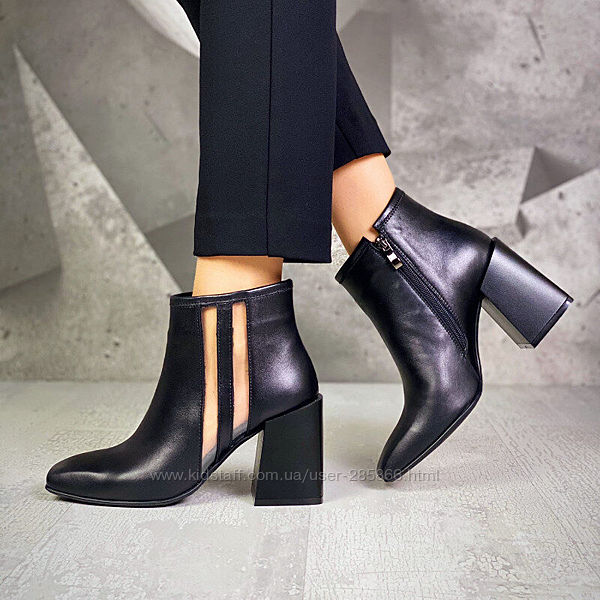 р.36-40 Натуральные женские ботинки