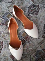 Новые кожаные балетки, размер 38