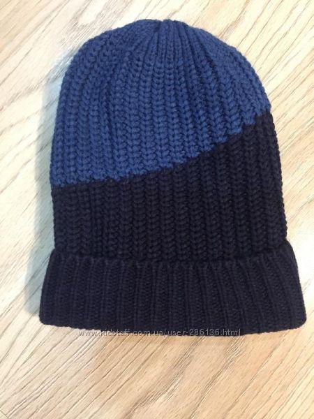 Тёплая и модная вязаная шапка на флисе crivit