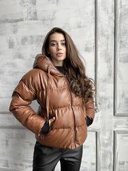 Шикарная куртка, экокожа, все цвета
