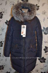 Телая зимняя курточка с чернобуркой р. 48. ТОРГ