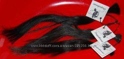 Волосы натуральные в срезе, тон 2, тёмно-коричневый
