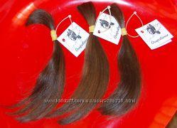 Волосы натуральные, тон 6. 3, средне-русый золотистый