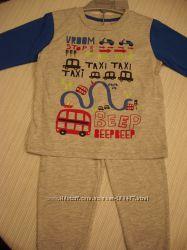 Пижамы Matalan Англия 12-18 мес 80-86 см Новые с биркой