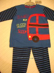 Пижамы Matalan Англия 12-18 мес 80-86 см 3-4 года 98-104 см Новые с биркой