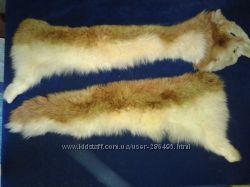 продам мех лисы с шубы