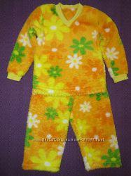 Теплая махровая пижама для доченьки