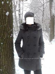 Пальто зимнее теплое