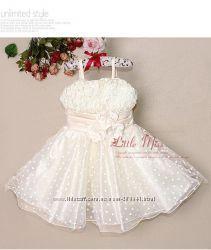 Нарядное платье для девочки в наличии Скидка