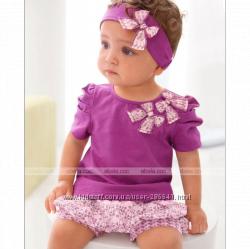 Комплект одежды шорты и футболка на девочку.