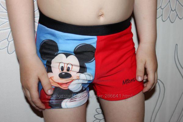 Плавки шортиками на мальчика Микки Маус