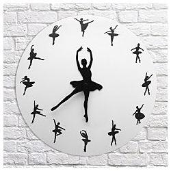 Оригинальные настенные часы Танцующая Балерина