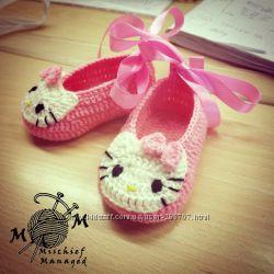 Пинетки-туфельки для маленькой принцессы