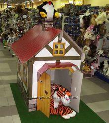 Чудовий подарунок від Миколая та Діда Мороза для малечі - хатинка