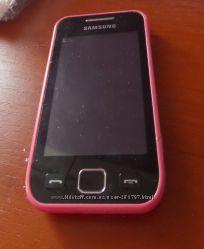 Samsung Wave 525 GT-S5250 розовый