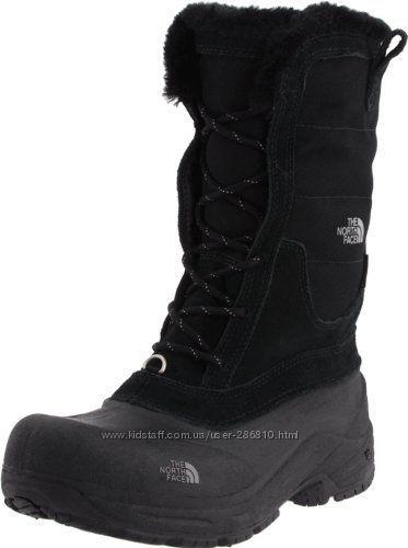 Зимние ботинки сапоги The North Face 2J. На ногу 19 см