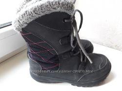 Зимние сапоги ботинки Коламбия. Хорошее состояние. 21 см стелька