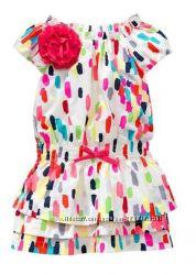 Новые яркие платья Gap. 3т, 5т.