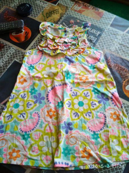 Фирменное платье Carters на 5-7лет