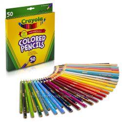 Деревянные карандаши Crayola 50 шт