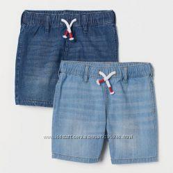 Джинсовые шорты H&M 5-6 лет