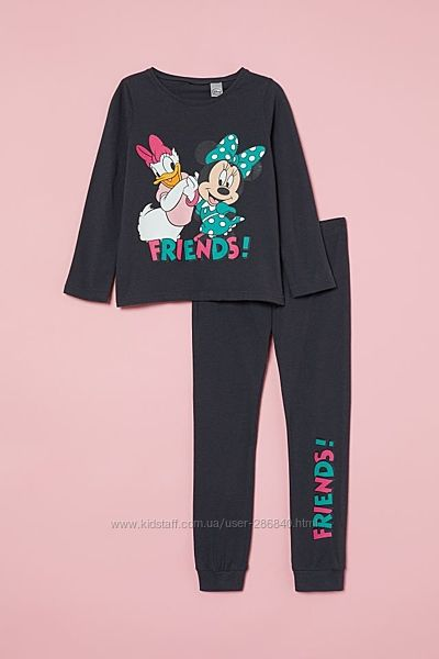 Пижама H&M 6-8 лет