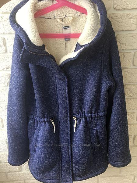 Пальто на меху шерпа Old Navy 14 лет