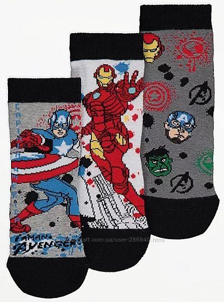 Носочки George Marvel Avengers 23-26р