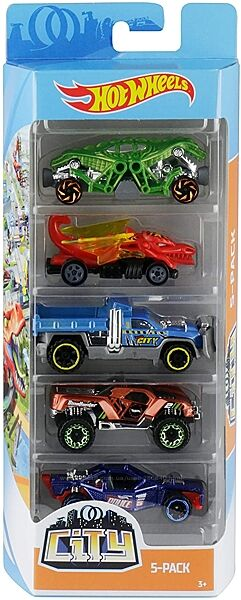 Машинки Hot Wheels Набор 5 шт