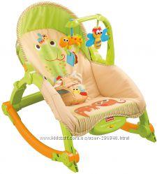 Кресло качалка Fisher-Price с рождения до 18 кг. Оригинал