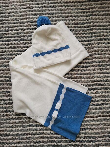 Демисезонный комплект шапка и шарф для девочки Wojcik, р. 52