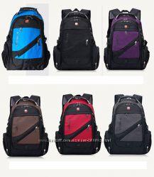 Фирменный швейцарский рюкзак Wenger SwissGear 1418 цвета - лучший подарок