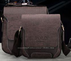 27a52e3aa0e8 Мужская сумка через плечо VIDENG POLO Pride. Сумка-планшетка, CrossBody