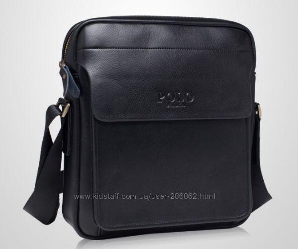 Мужские сумки через плечо POLO VIDENG и JEEP. Сумки-барсетки. Разные модели