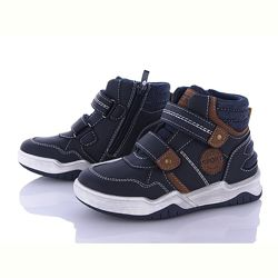 Демисезонные ботинки хайтопы на мальчика 27-32р. Демісезонні черевики.
