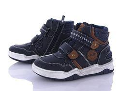 Демісезонні дитячі черевики хайтопи на хлопчика С. Луч розміри 27-32.