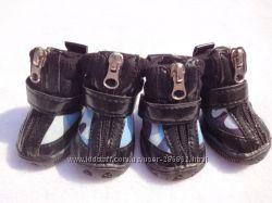 Ботинки Камуфляж для собак средних и крупных пород. Обувь для собак.