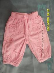 дуже гарні вельветові штани на підкладці для дівчинки