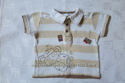 Модная футболочка COOL CLUB на мальчика 1-2 года.