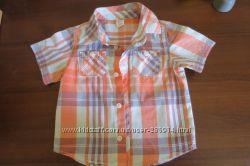 Модная рубашка OLD NAVY 1, 5-2, 5 годика состояние новой