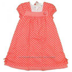 Платье TOPOLINO красное в горошек для девочки 98, 104, 110, 116, 122, 128
